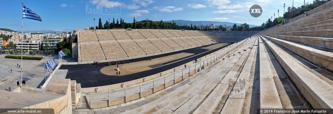 JF273204. Roman Stadium, Athens (Greece)