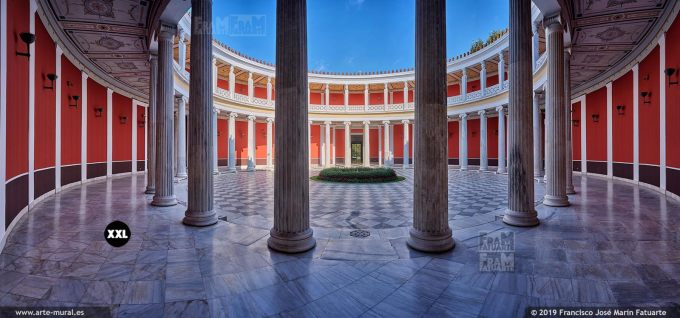 JF287905. The Zappeion Megaron Interior, Athens (Greece)