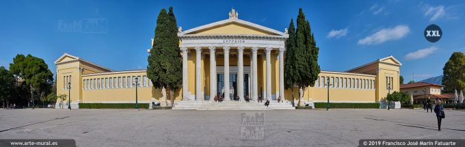 JF2896F5. The Zappeion Megaron of Athens (Greece)