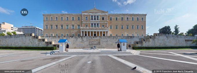 JF293405. Old Royal Palace (Greek Parliament House), Athens (Greece)