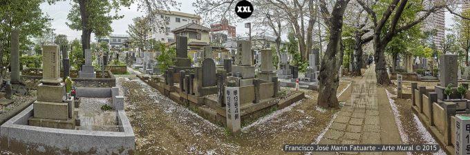 F2600603. Cementerio en Yanaka. Tokyo (Japón)