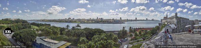 E2028355. Vista desde el Castillo del Morro. La Habana, Cuba