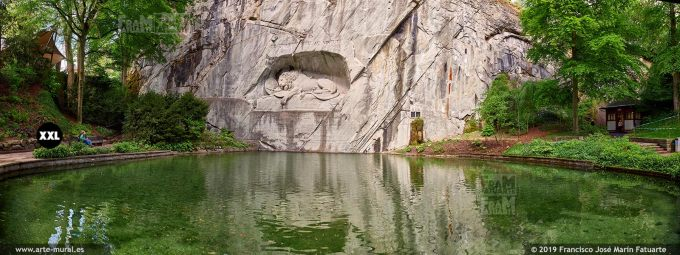 JF867004. The Lion Monument, Lucerne (Switzerland)
