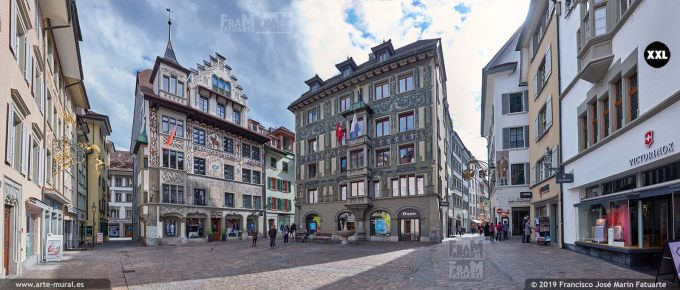 JF870606. Hirschenplatz, Lucerne (Switzerland)