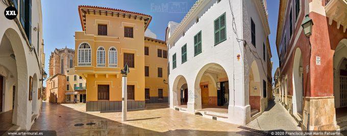 K8521975 Ciudadela Town center, Menorca (Spain)