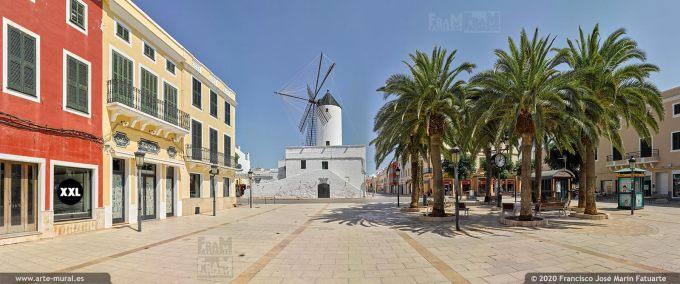 K8523205 Plaza de Alfonso III - Ciudadela, Menorca (Spain)