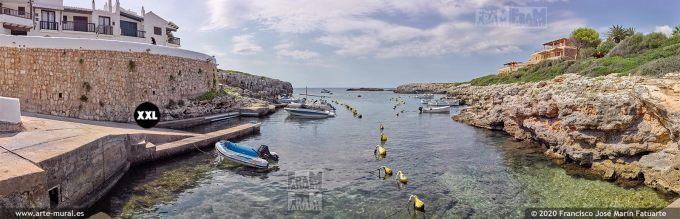 K8686205 Binibeca Vell harbour, Menorca (Spain)