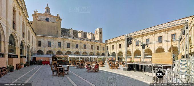 K8734606 Carme Church cloister - Mahon, Menorca (Spain)