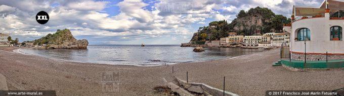 H5942905. Baia di Mazzarò. Taormina - Sicily (Italy)