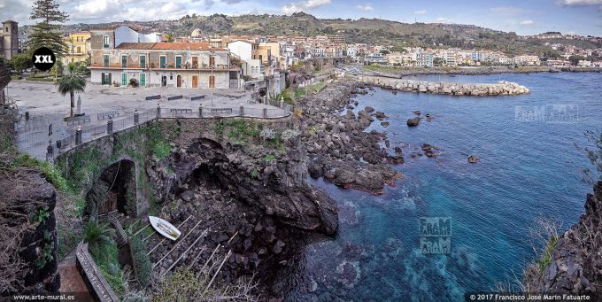H6072103. Aci Castello. View from Castle. Sicily (Italy)