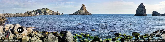 H6090207. Islands of the Cyclops. Aci Trezza, Sicily (Italy)