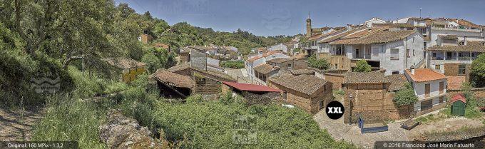 G3472404. Valdelarco aerial view - Huelva (Spain)