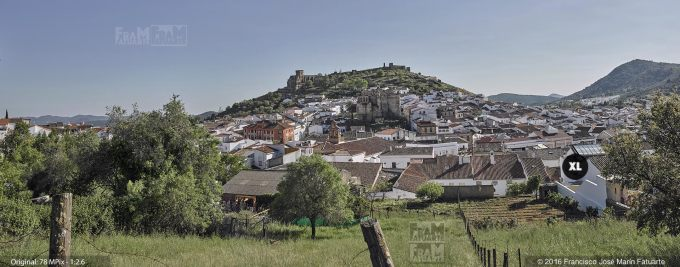 G3477402. Aracena skyline - Huelva (Spain)