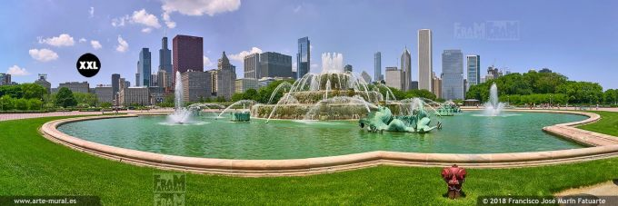 IF817106. Buckingham Fountain, Chicago