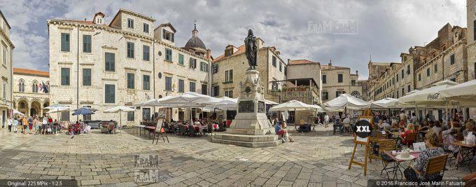 G3700907. Gundulic Square. Dubrovnik (Croatia)