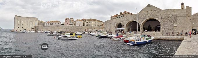 G3709306. Dubrovnik City Harbour (Croacia)
