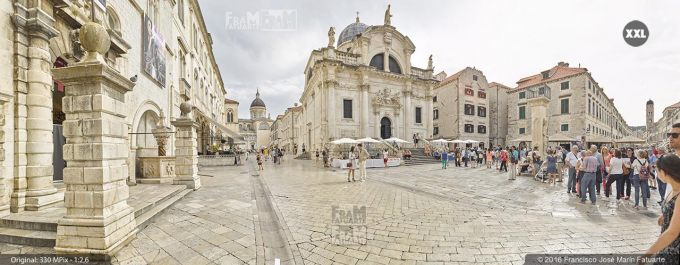 G3712307. Church of St Blasius, Placa street and Luza square. Dubrovnik  (Croacia)