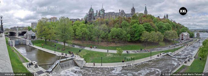 I6579856. Rideau Canal, Ottawa. Canada
