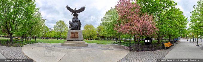 I6599204. National Aboriginal Veterans Monument, Ottawa. Canada