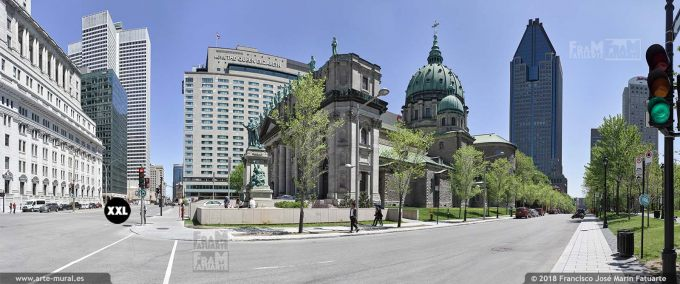 I6640404. Cathédrale-Basilique de Sainte-Marie à Montréal, Québec, Canada