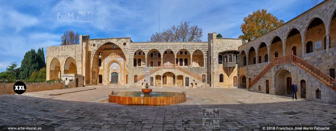 IF0478F3. Beiteddine Palace. Chouf District, Lebanon