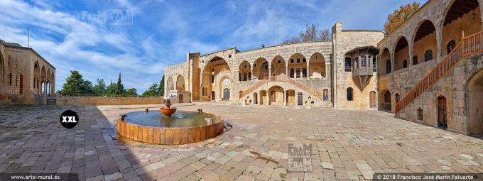 IF050005. Beiteddine Palace. Chouf District, Lebanon