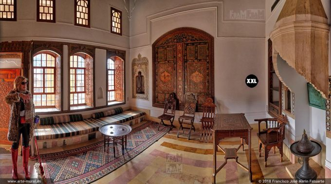 IF057354. Beiteddine Palace. Interior. Lebanon