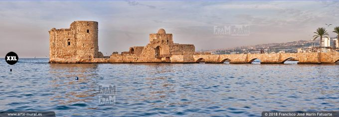IF167303. Crusaders Sea Castle. Sidon, Lebanon