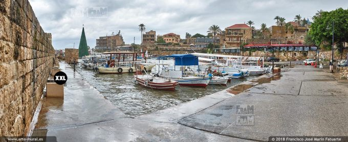 IF319103. Ancient port. Byblos Lebanon