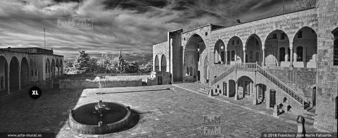 IS009203. Beiteddine Palace. Chouf District, Lebanon