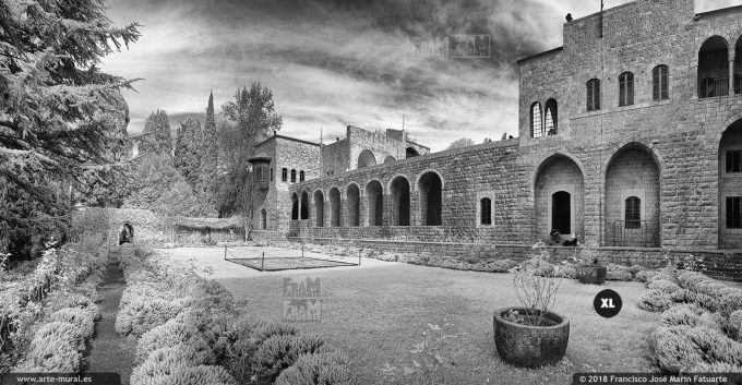 IS011805. Beiteddine Palace. Chouf District, Lebanon