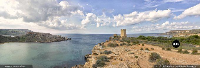 F2878304. Għajn Tuffieħa Bay.