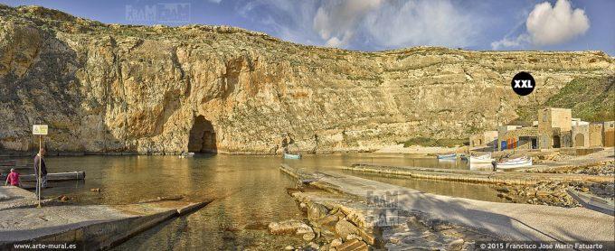 F2900003.  Inland Sea (Qawra), Dwejra - Gozo